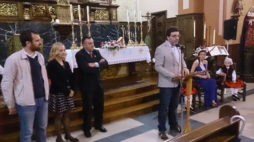 Lectura del pregón del Corpus del año 2015 por José Antonio Longo Marina